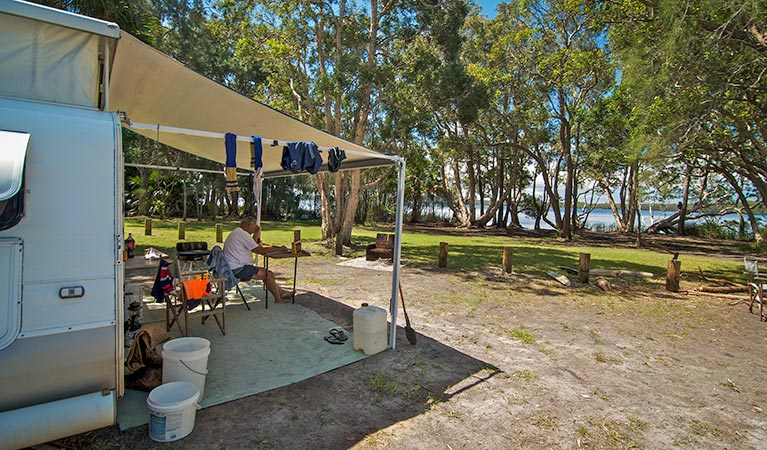 Dees Corner campground - Southport Accommodation
