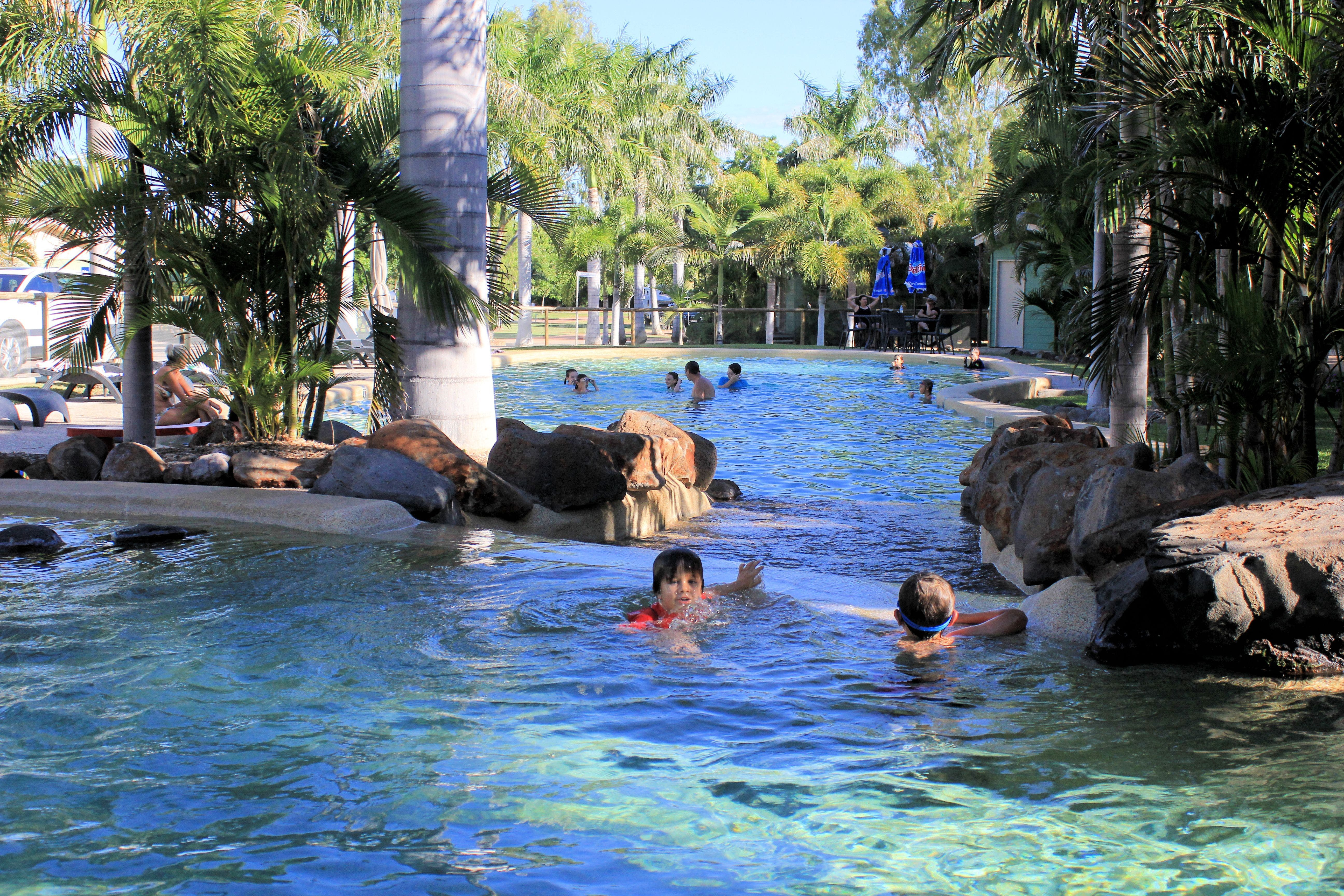 Big4 Aussie Outback Oasis Holiday Park - Southport Accommodation