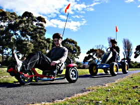 Pedal Buggies Tasmania - Southport Accommodation