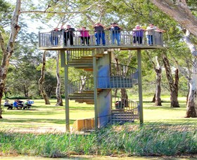 Darling and Murray River Junction and Viewing Tower - Southport Accommodation