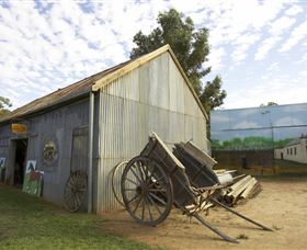 The Ned Kelly Blacksmith Shop - Southport Accommodation