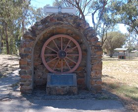 Jindera Pioneer Cairn - Southport Accommodation