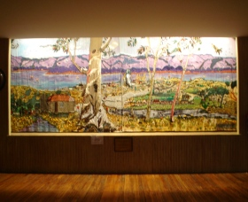 Adaminaby Memorial Hall Stage Curtain - Southport Accommodation