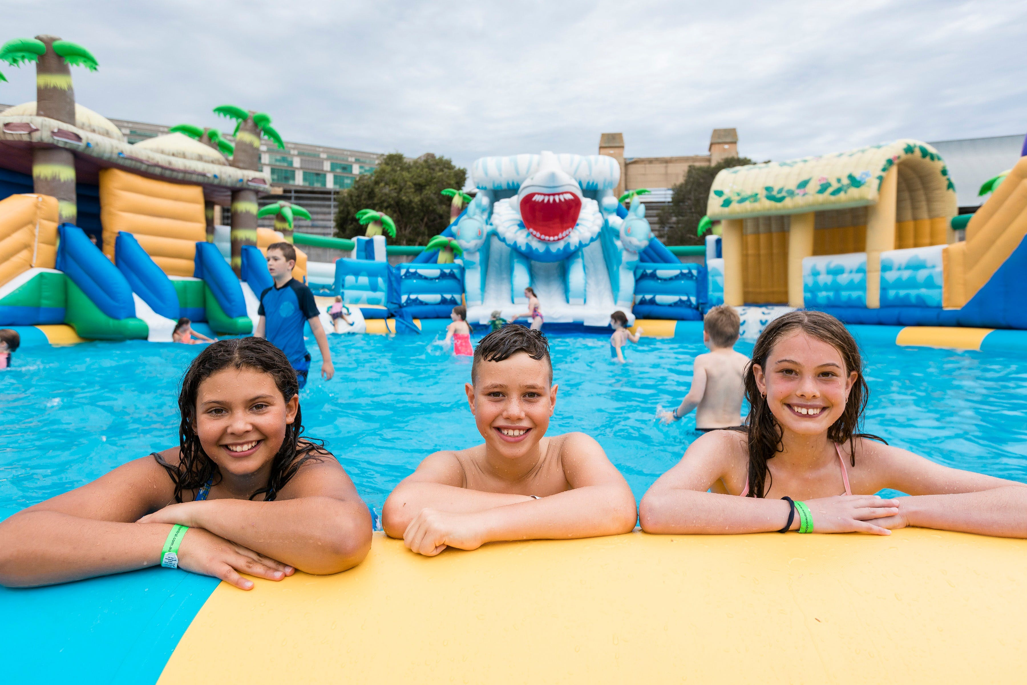 Waterworld Central - Mobile Inflatable Waterpark - Southport Accommodation