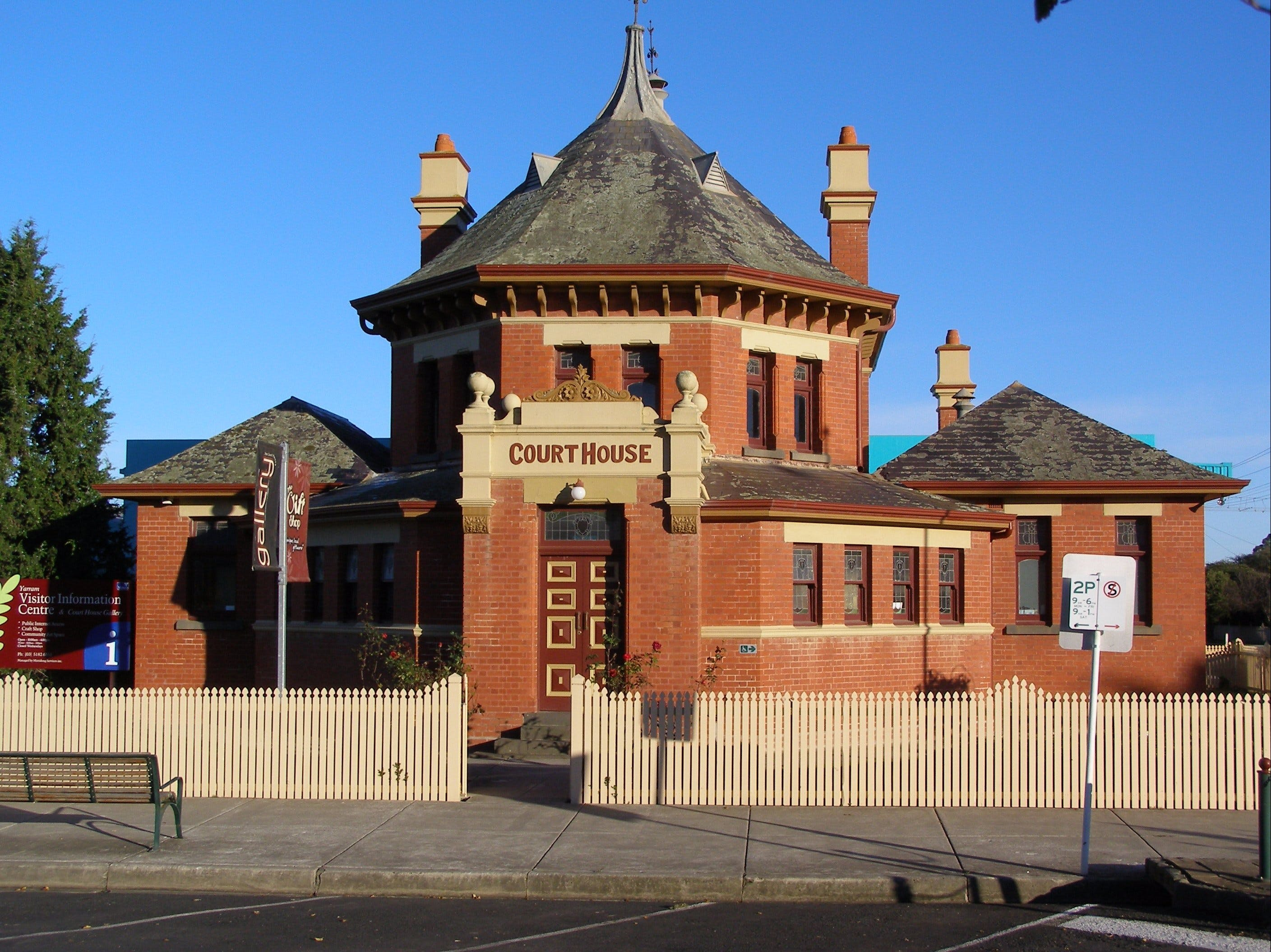 Yarram Courthouse Gallery - Southport Accommodation