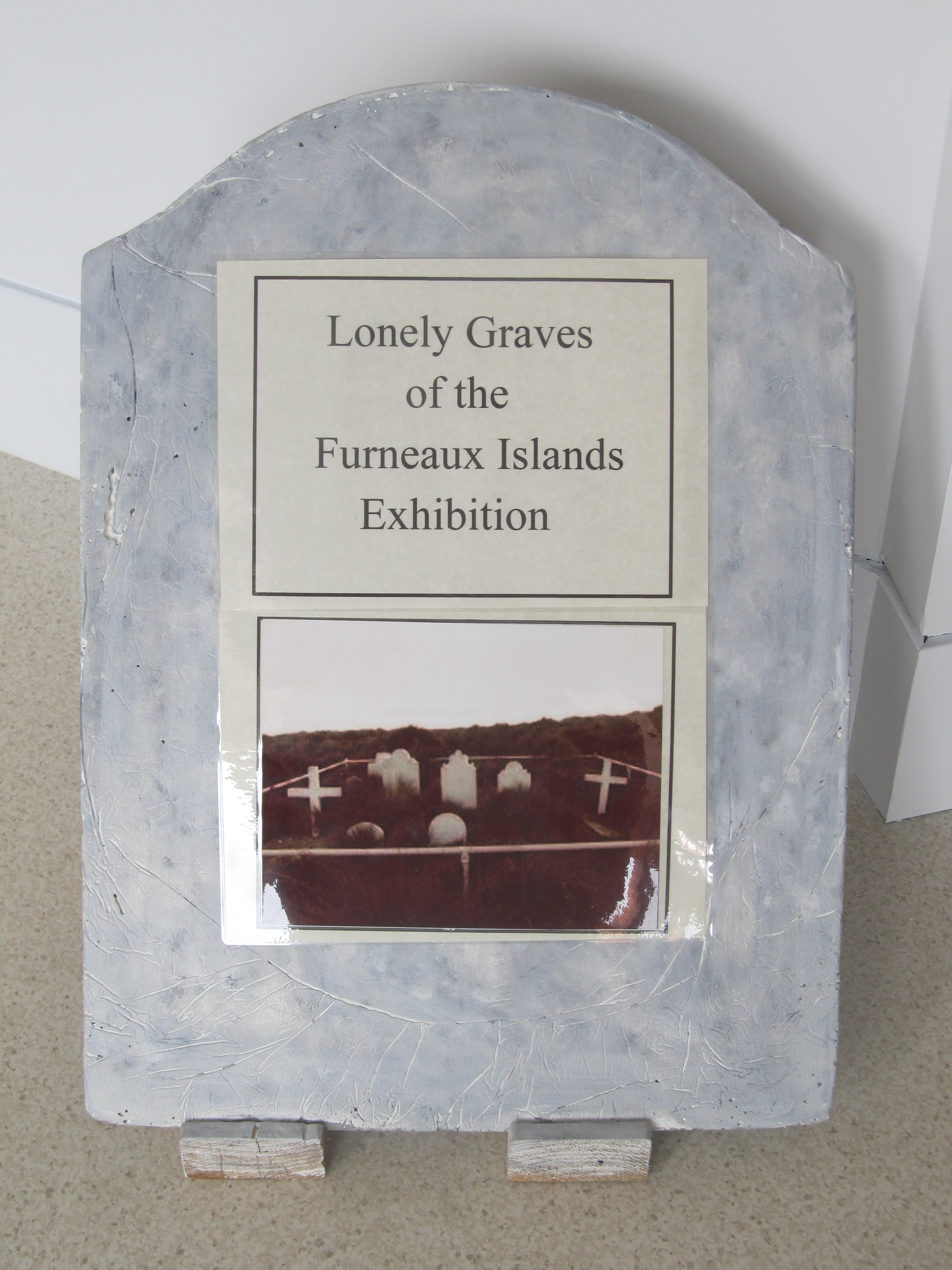 Lonely Graves of the Furneaux Islands Exhibition - Southport Accommodation