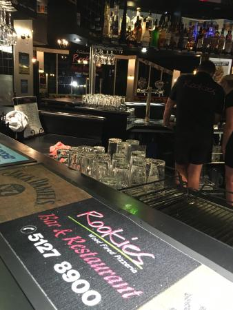 Rookies Pizzeria Bar  Grill - Southport Accommodation
