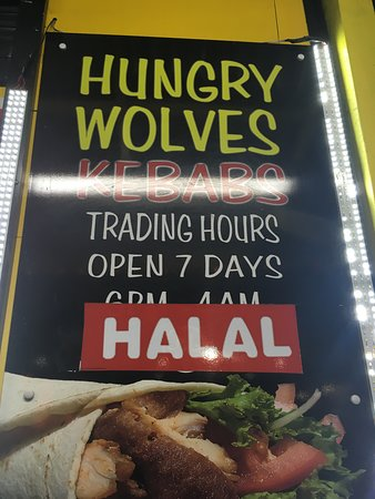 Hungry Wolves Kebabs - Southport Accommodation