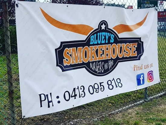 Bluey's Smokehouse Burgers  BBQ - Southport Accommodation