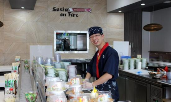 Sushi On Fire - Southport Accommodation