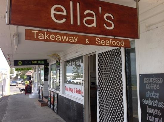 Ella's Takeaway and Seafood Harrington - Southport Accommodation