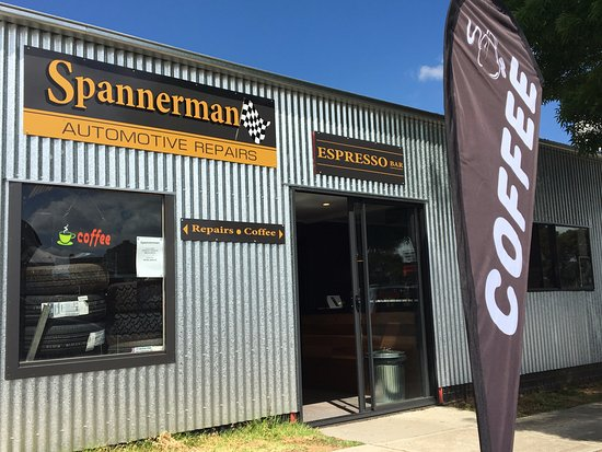 Spannerman Espresso - Southport Accommodation