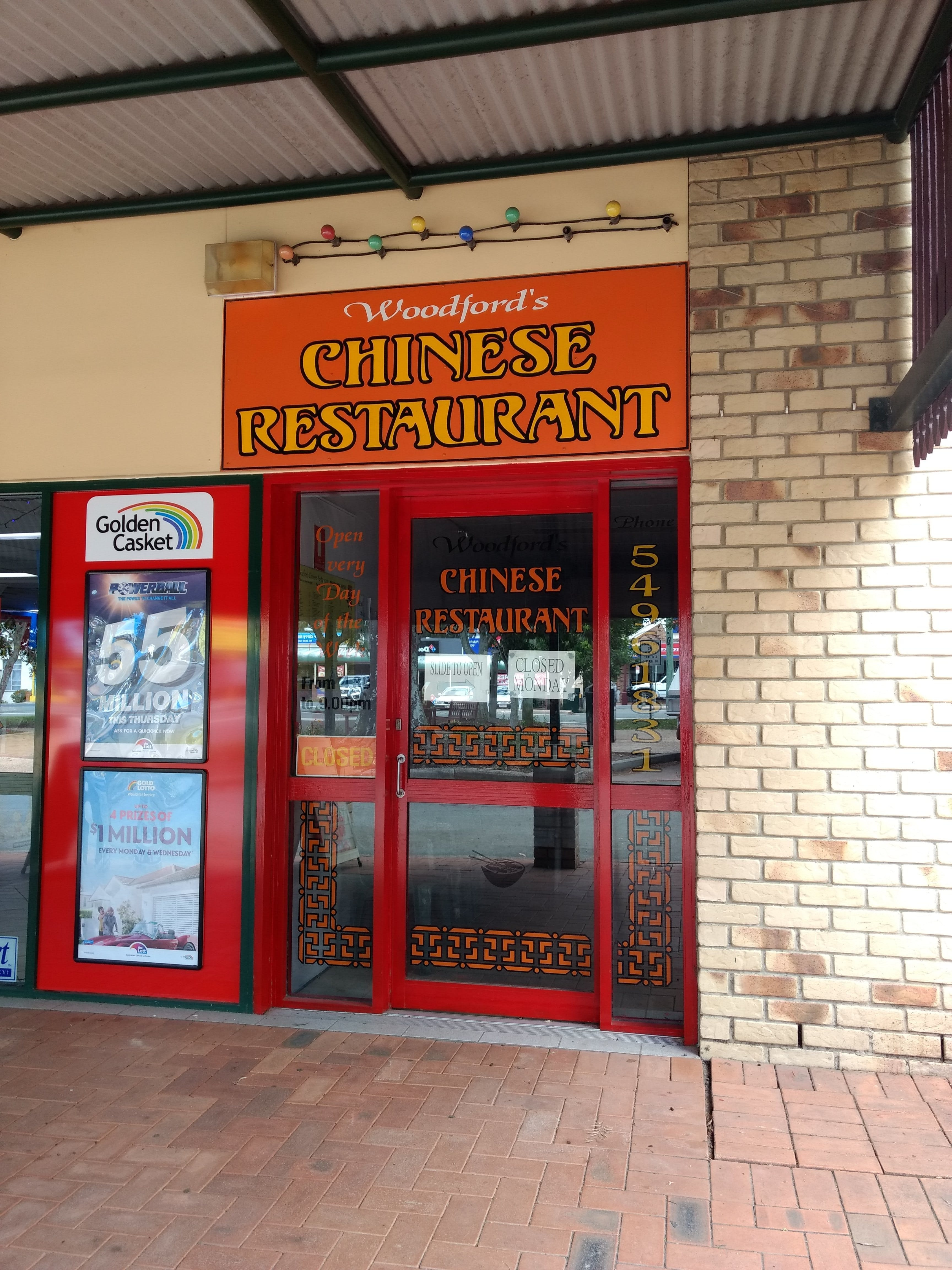 Woodford's Chinese Restaurant - Southport Accommodation