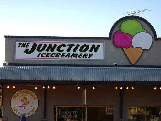 The Junction Icecreamery - Southport Accommodation