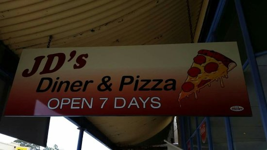 JD's Diner  Pizza - Southport Accommodation