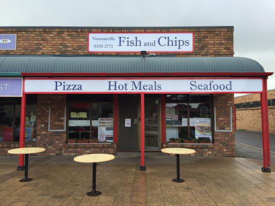 Normanville Fish Shop  Pizza - Southport Accommodation