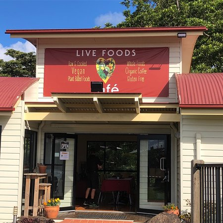 Live Foods Cafe  Restaurant - Southport Accommodation