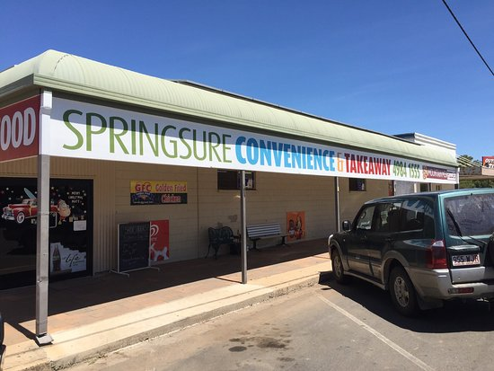Springsure Convenience  Takeaway - Southport Accommodation