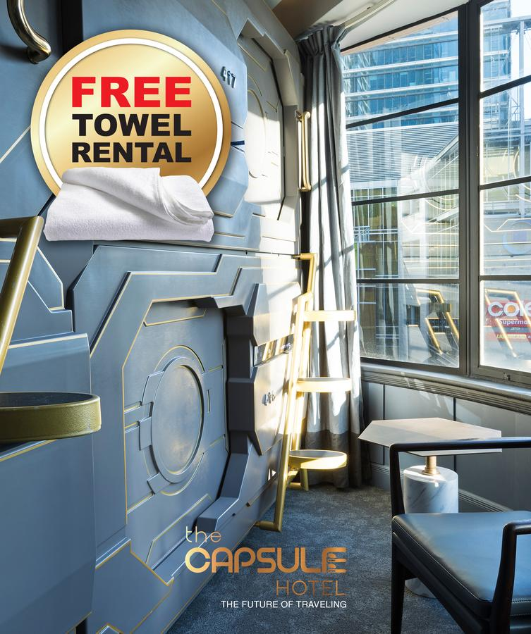The Capsule Hotel - Southport Accommodation
