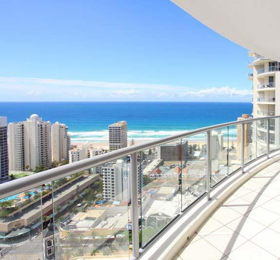Beach Stay - Ocean  Riverview resort Chevron Renaissance central Surfers Paradise - Southport Accommodation